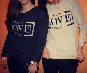 fashion, sweater, and love image