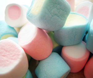 candy, food, and marshmallows image