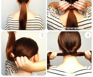 diy, twist, and hair image