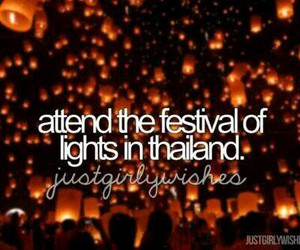 lights and thailand image
