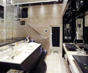 bathroom, house, and luxury image