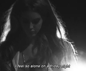 lana del rey and alone image
