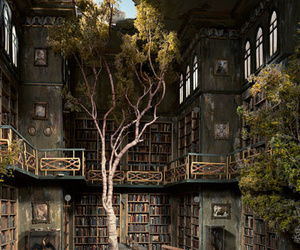 books and tree image