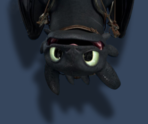 toothless and dragon image