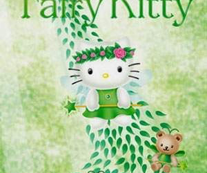 fairy and hello kitty image