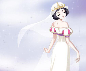 snow white, disney, and sailor moon image