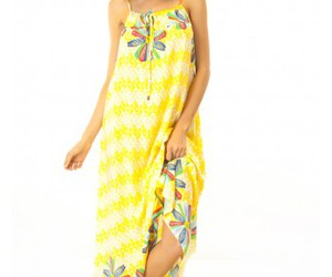 dress, yellow, and mombasa rose image