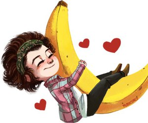 Harry Styles, one direction, and banana image