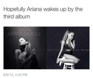 funny, ariana grande, and album image