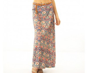 print, skirt, and floral image