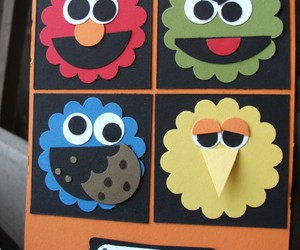 carta, cookie monster, and diy image