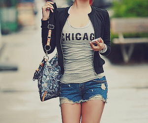 fashion, girl, and chicago image
