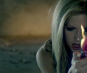 wish you were here, Avril Lavigne, and fire image