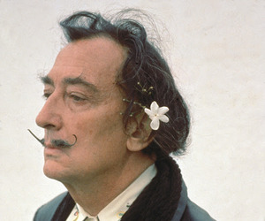 salvador dali, dali, and flowers image