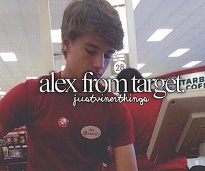 alex, target, and cute image