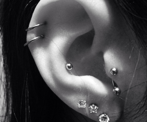 addicted, cartilage, and tragus image