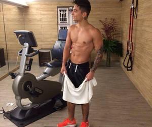 maluma, gym, and Hot image