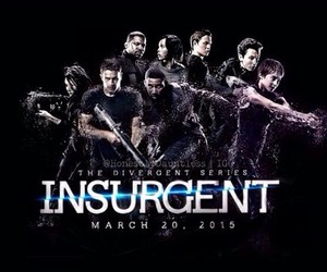 insurgent, divergent, and books image