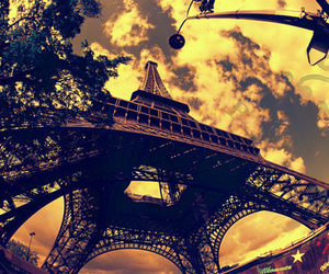 eiffel tower, Mila Kunis, and pictures image