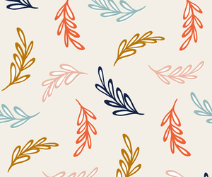 colors, leaves, and pattern image