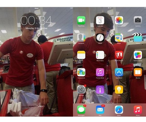OMG, homescreen, and alex from target image