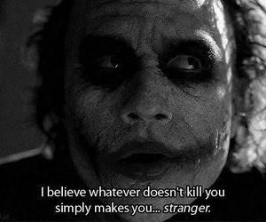joker, quotes, and batman image