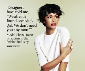 Chanel Iman, fashion, and model image