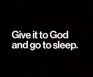 faith, god, and sleep image
