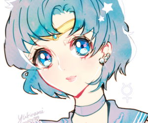 sailor mercury and sailor moon image