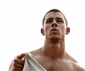 nick jonas, boy, and shirtless image
