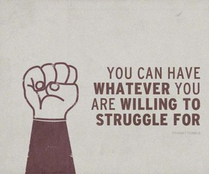 quote, struggle, and inspiration image