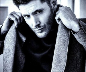 blonde hair, green eyes, and dean winchester image