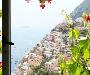 holiday, view, and view in positano image