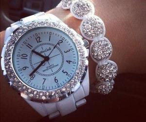 watch, white, and accessories image