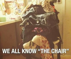 funny, clothes, and chair image
