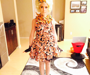 butterfly, butterfly dress, and costume image