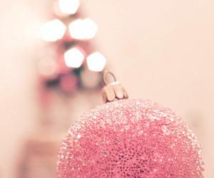 christmas, pink, and winter image