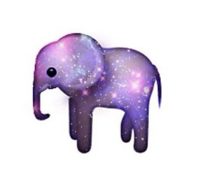 elephant and emoji image