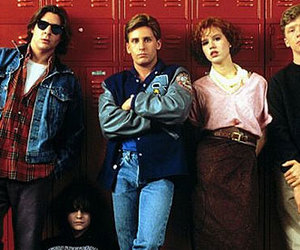 movie, 80s, and The Breakfast Club image