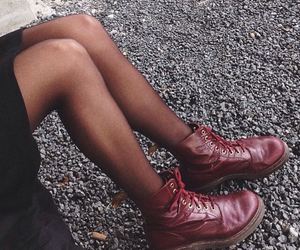 autumn, awesome, and doc martens image