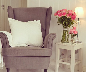 chair, cosy, and decor image