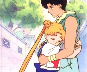 sailor moon and mamoru image