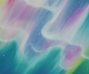 aurora, background, and pastel image