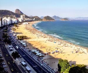 beach, bikini, and brasil image