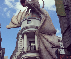Bank, dragon, and harry potter image