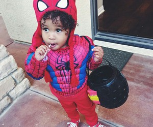Halloween, spider man, and cute image