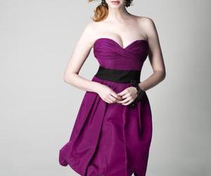beauty, Christina Hendricks, and girl image