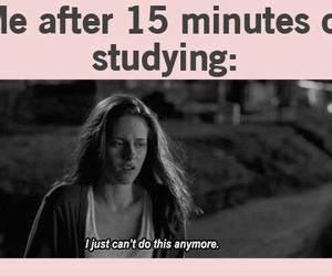 school, studying, and funny image