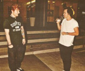favourite, ed sheeran, and Harry Styles image