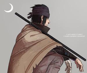 sasuke uchiha and naruto shippuden image